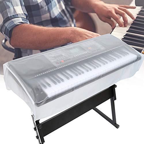 Rainai Piano Keyboard Staubschutz Matt transparent wasserdicht Abdeckung Cover für 61/88 Tasten Keyboard