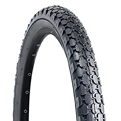 """Bike Tire,26""""x2.125""""Folding Replacement Tire for Beach Cruiser Bicycle-Black"""