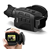 "Vmotal Digital Night Vision Monocular Infrared for Darkness with 1.5"" TFT Inner Screen, IR Camera 960P HD Super Light Weight Video Recording Photo Taking for Outdoor Camping Hiking"