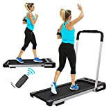 FYC 2 in 1 Folding Treadmill for Home Under Desk Electric Treadmill Workout Foldable Running Machine...