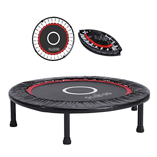Trampoline Mini Oefening Voor Volwassenen, Indoor Fitness Rebounder Voor Kinderen, Vouwen weg Bouncing Bed Voor Kleine Eenvoudige Opslag