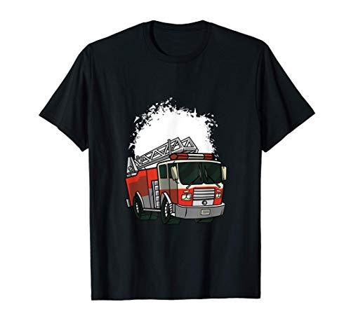 Camión de bomberos de dibujos animados Camiseta