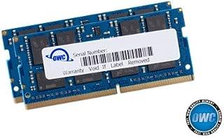 OWC 64GB (2 x 32GB) 2666MHz DDR4 PC4-21300 SO-DIMM 260 Pin Memory Upgrade, (OWC2666DDR4S64P), for 2018 Mac Mini (macmini18,1), 2019 27 inch iMac (iMac19,1) and PC laptops