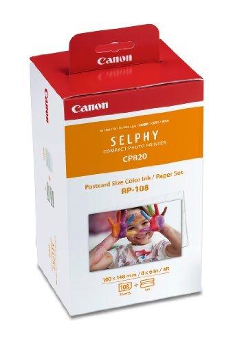 3x Canon rp-108Große Farbe Tinte/Papier Set Tinte