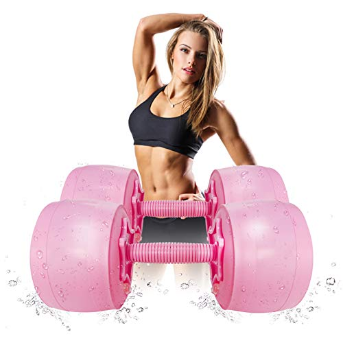 Deiris Hanteln Set 1~6 kg verstellbare hanteln Frauen füllbare hanteln Aqua softgrip hanteln pink hanteln Kinder Yoga hanteln 0.5kg 1kg 2kg 3kg 4kg 5kg 6kg