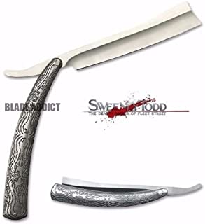 Sweeney Todd Straight G'store Blade Barber Razor Pocket Knife Shaving Cut Throat