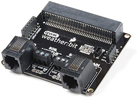 SparkFun Very popular weather:bit - micro:bit Board Carrier compatible Now on sale Qwiic