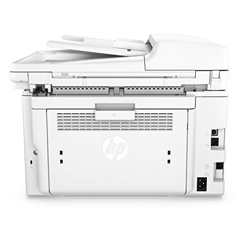 HP LaserJet Pro MFP M227fdn G3Q79A, Impresora Láser Multifunción, Imprime, Escanea, Copia y Fax, Ethernet, USB 2.0 de alta velocidad, HP Smart App, Apple AirPrint, Panel de Control LCD, Blanca