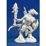 Reaper Lizardman Warrior (1) Miniature