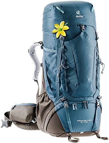 Deuter Aircontact Pro 65 + 15 Sl Zaino da trekking da donna, Donna, Zaino da escursionismo (fino a 45 L), 3330220, Caffè artico., 65