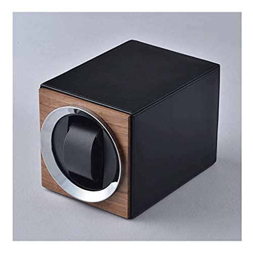 Boblen Original Negro Negro/Winder del Panel del Panel de la Fibra de Carbono, el bobinado Vertical, la Caja de Metal, una Ranura Individual, Negro, Calma de Madera Shaker 750TPD