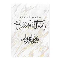 イスラム教徒のイスラム教徒のアラビア語書道アッラーアッラーコーラン宗教 大人の子供のための5Dダイヤモンド塗装キット-フルドリルDIYラウンドダイヤモンドアートナンバーキット、クロスステッチ刺繡 50X70cm