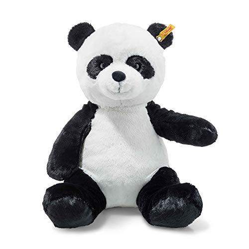 Steiff 75797 Panda, weiß/schwarz, 38 cm