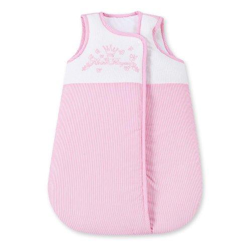 Baby Schlafsack Winterschlafsack/Sommerschlafsack für Jungen und Mädchen 70cm, Modelle:Kleine Prinzessin Rosa