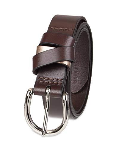 NYDJ Women's 100% Leather Casual Belt 1