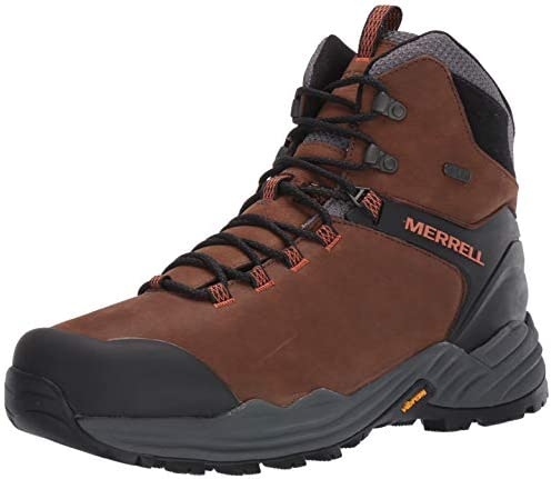 Merrell Men s PHASERBOUND 2 Tall Waterproof Hiking Shoe Dark Earth 12 product image
