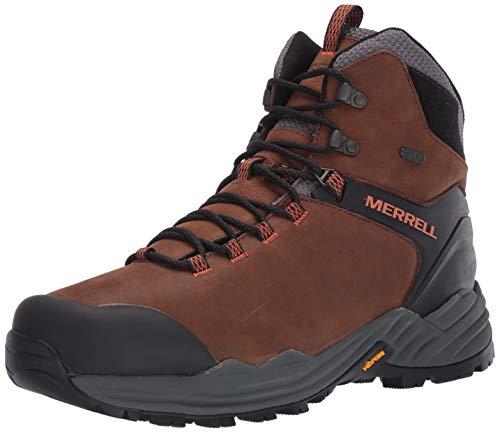 Merrell Men's PHASERBOUND 2 Tall Waterproof Hiking Shoe, Dark Earth, 11.5