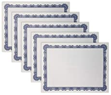 Image of 100 Sheet Certificate. Brand catalog list of Better Office Products.
