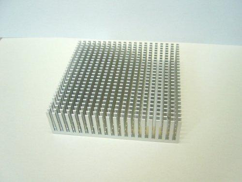 『大型ヒートシンク ASK25100W (白アルマイト付き)』のトップ画像
