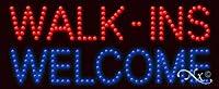 walk-ins Welcome LEDサイン( High Impact、エネルギー効率的な)