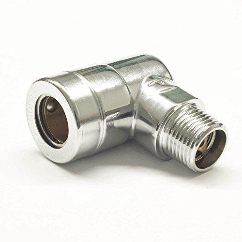 Stabilo-Sanitaer Gassteckdose 1/2 Zoll Gasanschluß Steckdose Gas mit TAS für Herdgasanschluß Gassteckschlauch Allgasanschluss Herdanschluß