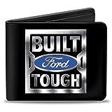 Buckle-Down mens Buckle-down Bifold Built Ford Tough Wallet, Built Ford Tough, 4.0 x 3.5 US