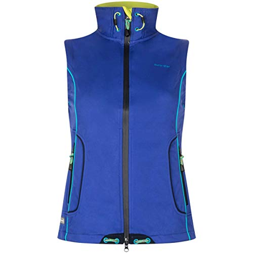 euro-star Damen Reitweste Flory Softshell Dutch blau XS