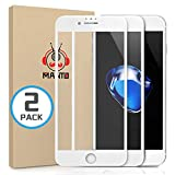 MANTO 2-Pack Screen Protector for iPhone SE...