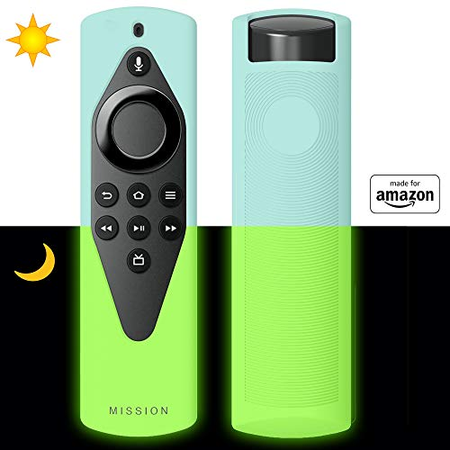 All New, Made for Amazon Remote Cover Case, for Alexa Voice Remote Lite - Glow-in-The-Dark