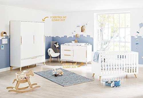 Pinolino 103419XG Move - Figura decorativa para habitación infantil (tamaño extragrande), color blanco