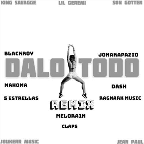 Joukerr Music, Jean Paul, Melora1n, Lil Geremi, Blackroy, Jonakapazio, 5 Estrellas, Dash, Ragnark Music, Son Gotten, Mahoma, King Savagge & Claps