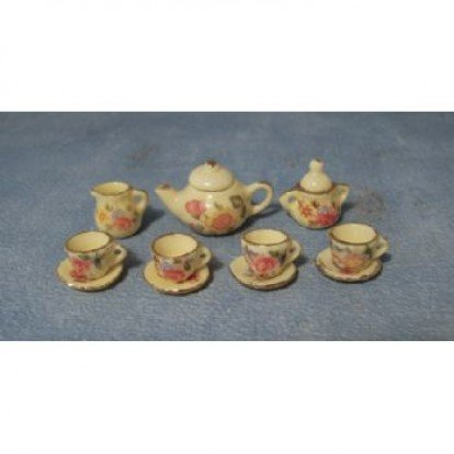 Small Yellow Tea Set