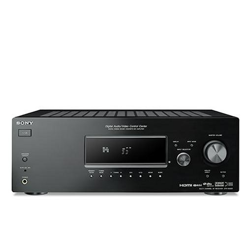 Sony STR-DG520 - Receptor AV (85 W, 5.1 canales, Envolvente, 0,09%, 8 Ω, 20-20000 Hz)
