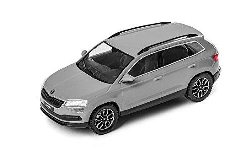 Skoda Karoq 1:43 Stahl Grau 5A7099300 F7A Modellauto
