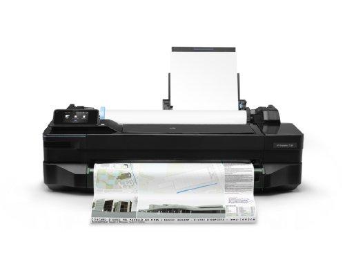 HP T120 Plotter Designjet, Sistema di Stampa Inkjet, Iniezione Termica Generica, Formato Stampa 24 Inches