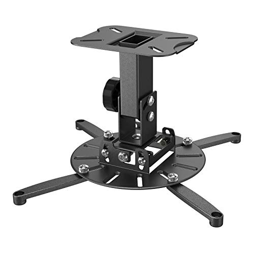Gibbon Mounts Universal Wall Projector Mount Hanger with 360-degree Rotatable Head, Easy to Assemble