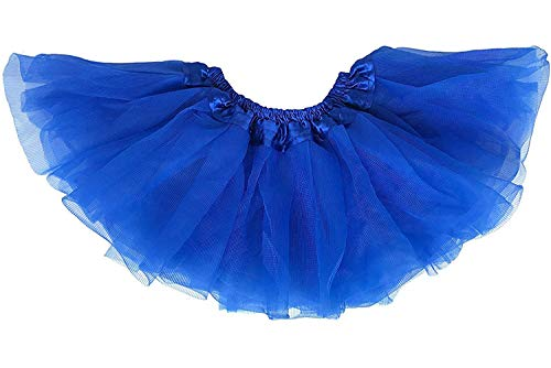 Dancina Dancina Mädchen Tüllrock Tutu Ballettrock Classic 8-13 Jahre Blau