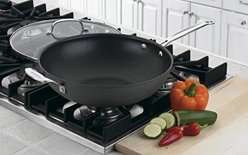 Cuisinart-626-32H-Chefs-Classic-Antihaftbeschichtung-harteloxiert-305-cm-mit-Griff-und-Deckel