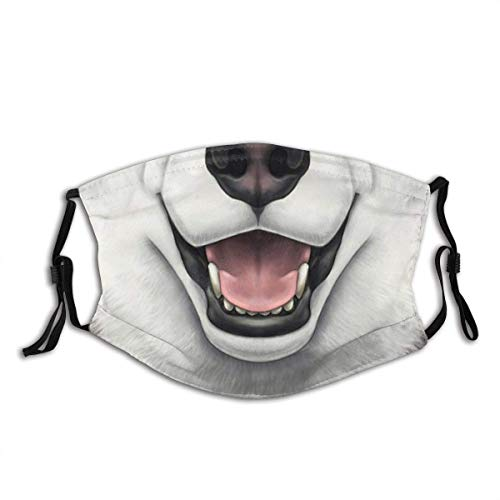 Face Mask Mouth Cover Reusable Mask French Bulldog Head Mask
