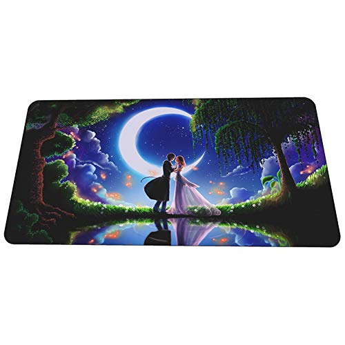 JUMOQI Anime Mouse Pad Gamer Gaming Mousepad 3D Notbook Bureau Mat Leuke Padmouse Games Pc Gamer Mats Gamepad 400X900X3MM