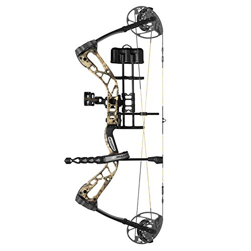 Diamond Archery Edge 320 70lbs Compound Bow, Left Hand, Black
