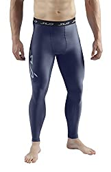 Sub Sports Men's Cold Compression Trousers Thermal Functional Underwear Base Layer Long, Navy, L