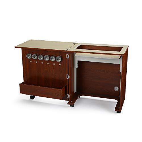 Arrow Judy Sewing Machine Cabinet in Teak
