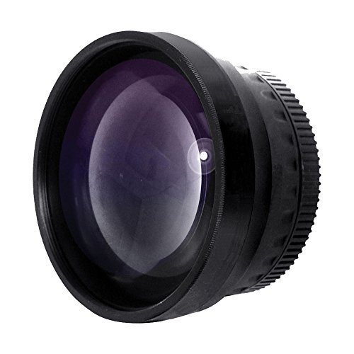 New 2.0X High Definition Telephoto Conversion Lens (55mm) for Sony FDR-AX53