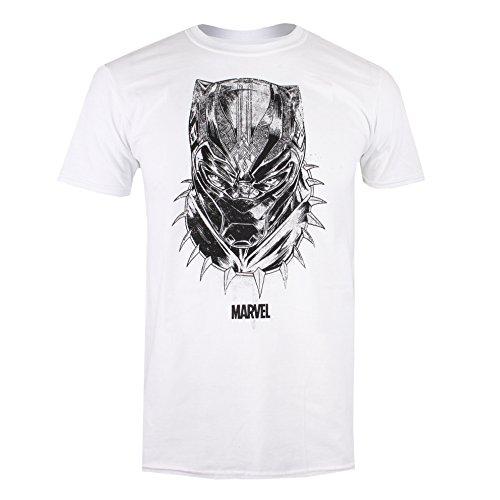 Black Panther mannen masker T - shirt