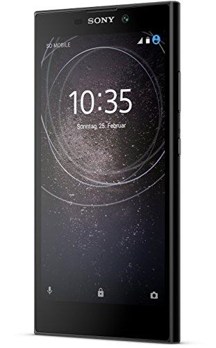 Sony Xperia L2 Smartphone (13,97 cm (5,5 Zoll) Full HD Display, 32 GB Speicher, 3 GB RAM, Android 7.1) Schwarz