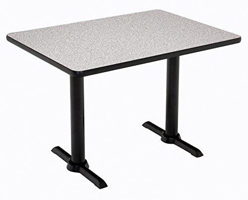 "KFI Seating Mode Multipurpose Table 41"" x 30"" x 60"" Gray Nebula -  KFI Studios, T3060-B2065-BK-GYN-38"
