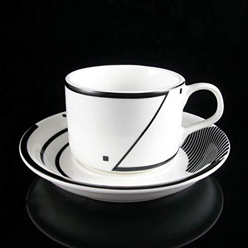 QWSAZX Draagbare thee kopje en schotel set keramische aardewerk thee kopje huishoudelijke goederen ontvangst thee set