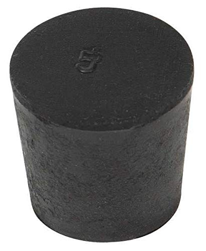 Stopper 25 Mm Neck Size Rubber High quality Special price new Height Black Pk 210