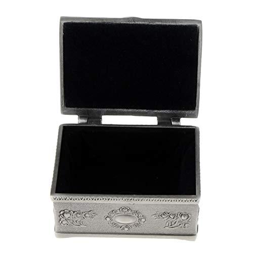 AoPong Treasure Chest - Caja de almacenamiento para joyas, diseño vintage